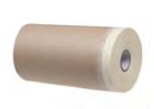 Бумага защитная 40г/см2 с малярной лентой 0,18х30 м в рулоне