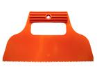 Шпатель для клея, пластмассовый, зуб 2х2 мм
