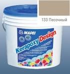 эпоксидная затирка для швов Kerapoxy Design 3кг цв. 133 песочный