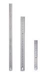 Линейка двусторонняя, металлическая 150 мм