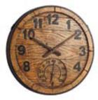 Часы с термометром Gloucester 38 см