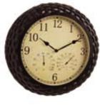 Часы, термометр + гигрометр Winchester 37,5см