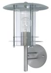 Светильник уличный настенный. Е27, 60W. IP44.Нержавеющая сталь, пластик.