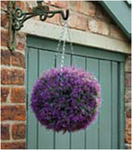 Искуственное растение Topiary Ball 30cm розовая лаванда