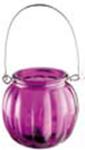 Подсвечник для чайной свечи Jam Jar 8 * 7,5см цвет в ассортименте