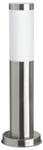 Светильник уличный  люминесцентный. Е27, 20W. IP44. Нержавеющая сталь, пластик. Высота 450мм