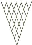 Решетка складная 1.8х0.9 зеленая, дерево фигурн