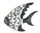 Декор настенный Тропическая рыба 52cm x 47cm