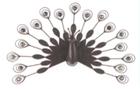 Декор настенный Павлин 61cm x 49cm x 13cm