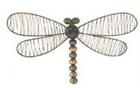 Декор настенный Изысканная стрекоза 30.5cm x 20cm