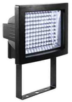 Прожектор светодиодный. 117LED, 117x0,075W,, IP44, Алюминий, стекло.