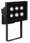 Прожектор светодиодный. 6xHP-LED, 6x1,3W, IP44, Алюминий, стекло.