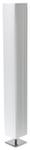 Торшер ISA, 220V,2xE27,40W.металл текстиль. Высота 1,2м.