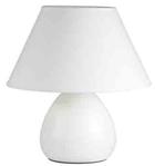 Лампа настольная LYNN. 220V,E14,40W. Керамика. Абажур текстиль. Высота 24см.