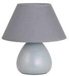 Лампа настольная LYNN. 220V, E14, 40W. Керамика. Абажур текстиль. Высота 24см.