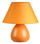 Лампа настольная LYNN . 220V,E14, 40W. Керамика. Абажур текстиль. Высота 24см.