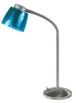 Лампа настольная PIAZZO, галогенная. 220V,G9,40W. Металл, пластик. Высота 40см.