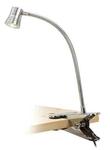 Лампа настольная светодиодная на прищепке. 5V,1 LED, 3W. Трансформатор в комплекте.