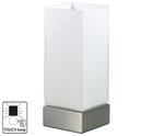 Лампа настольная TOUCH. 220V,E14,40W.Сенсорный выключатель.Металл,стекло. Высота 23см.