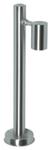 Светильник уличный галогенный. GU10, 1x35W. IP44. Нержавеющая сталь,  высота 500мм.