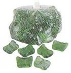 Камни декоративные стеклянные Butterflies1kg