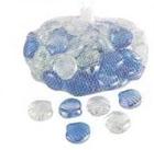 Камни декоративные стеклянные Shells1kg