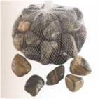 Камни декоративные в полоску1kg