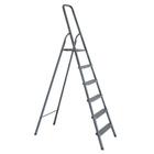 Стремянка алюминиевая, 6 ступеней, 124 см