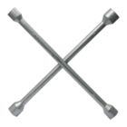 "Ключ балонный ""Крест"" 17x19x21x22"