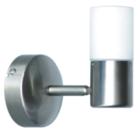 Светильник галогенный для ванной комнаты. G9, 40W, 220V,  IP23, сталь, стекло.