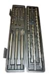 Набор буров по бетону, двойная спираль, четыре резца, хвостовик SDS PLUS, 5*110 мм; 6*110 мм; 8*160 мм; (шт.)