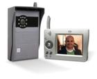 Видеодомофон цифровой беспроводной + дверной звонок