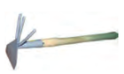Рыхлитель 3-х зубый, комбинированный с черенком