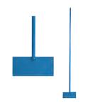 Ледоруб-скребок фигурный с металлической ручкой, 200x1200 мм