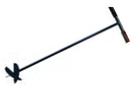 Бур садовый 1 м, со сменными ножами d 150-200 мм