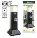 Светильник садовый с выключателем, датчик движения
