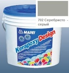 эпоксидная затирка для швов Kerapoxy Design 3кг цв. 702 серебристо-серый