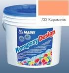 эпоксидная затирка для швов Kerapoxy Design 3кг цв. 732 карамель