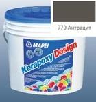 эпоксидная затирка для швов Kerapoxy Design 3кг цв. 770 антрацит