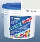 эпоксидная затирка для швов Kerapoxy Design 3кг цв. 799 белый