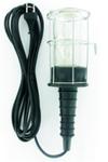 Лампа портативная металлическия