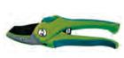 Секатор сад. 200 мм, тефлоновые лезвия, нак., двухком. ручки, рез до 15 мм