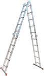 Лестница-Трансформер 4 секции по 5 ступеней 235/458 см