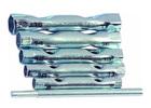 Набор ключей-трубок торцевых, 8 х 17 мм, вороток, сталь, 6 шт.