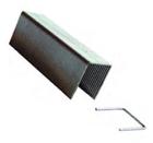 Скобы для сшивателя прямоугольные 10х4 мм (1000 шт.)