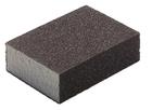 Губка для шлифования корунд, 100х70х25 мм, P120