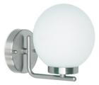 Светильник  для ванной комнаты. Е14 40W,220V,  IP23, сталь, стекло.