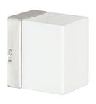 Светильник галогенный для ванной комнаты. G9,40W ,220V,  IP44, сталь, стекло.