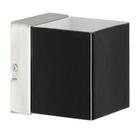 Светильник галогенный для ванной комнаты. G9 ,40W , 220V,  IP44, сталь, стекло.