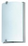Светильник  для ванной комнаты. Е27, 60W,220V,  IP23, сталь, стекло.